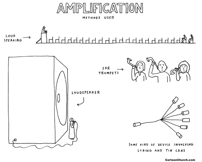 Amplification cartoon
